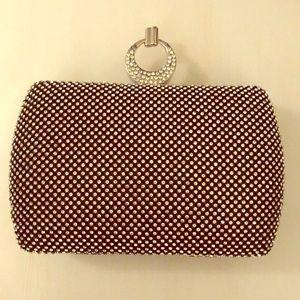 Handbags - Rhinestone evening clutch, NWT